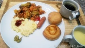 サービスの朝食の写真